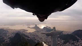 Wingsuit Flight Under Arm of Christ Statue in Rio de Janeiro, Highlights | Perfect Flight, Ep. 1