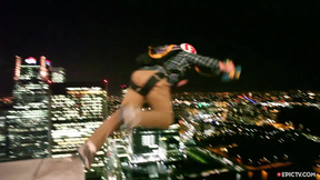 Two BASE Jumpers Throw Themselves Off 48th Floor In The Heart Of London | EpicTV Fresh Catch