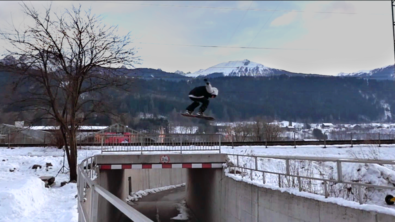 Popping Gaps In Austria's Snowboarding Capital Innsbrucklyn