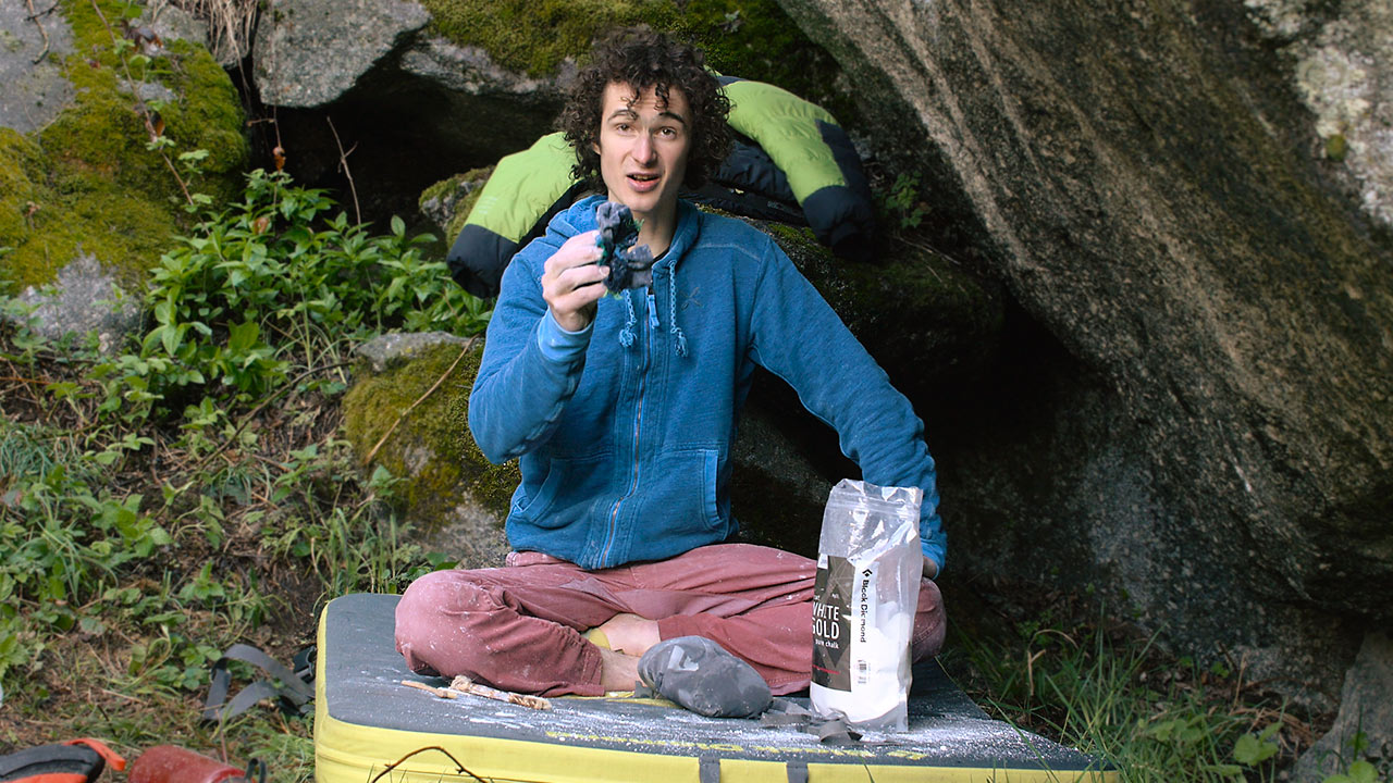 The Right Way To Dry Wet Holds With Adam Ondra | Q-Tip