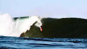 Paddling Into Big Wave Mullaghmore