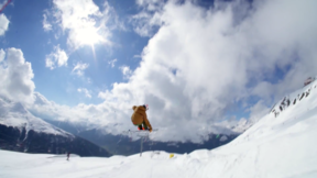 "Line Skis - LINE Traveling Circus in ""Swiss Cheese-Socks"""