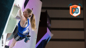 Shauna Coxsey's Flying Start To The IFSC Season Continues In Kazo | Climbing Daily Ep. 697