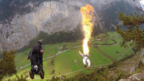 Fire Breathing While BASE Jumping | BEST OF EPICTV JANUARY 2015