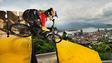 Spectacular Round 1 Recap From Santos, Brazil Downhill Race | City Downhill World Tour 2015
