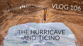 70 ft. Roof at the Hurricave and Riverbeds in Ticino || Cold House Media Vlog 106