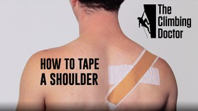 The Climbing Doctor Pro Tip: Shoulder Taping with Josh Levin