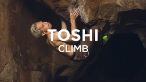 Climb | Toshi - Full Throttle (V13) in Hueco Tanks, TX