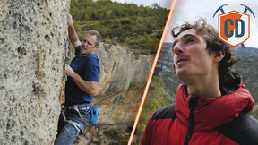 Adam Ondra Teaches Matt To Sport Climb | Climbing Daily Ep.1150