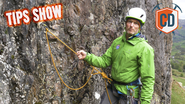 How To Build And Equalise A Trad Climbing Anchor | Climbing Daily Ep.1174