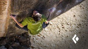 Sean Bailey Steps into the World of Black Diamond Climbing Shoes