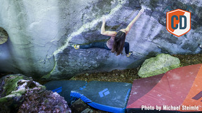 Kaddi Lehmann The Second Woman To Boulder 8C | Climbing Daily Ep.1196