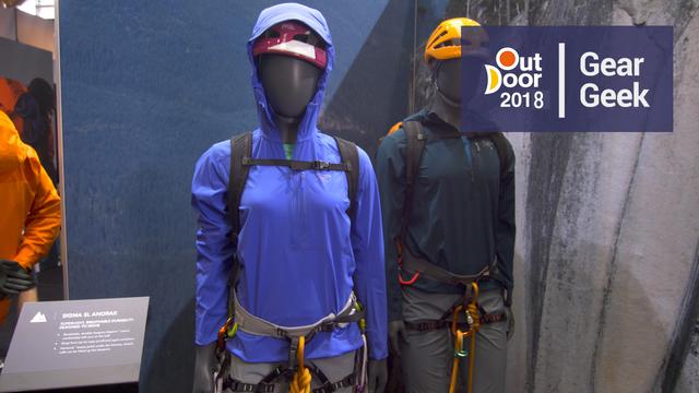 7cb69f8150 EpicTV Video: Arcteryx Sigma SL - Minimal Climbing Anorak | Outdoor ...