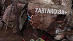 Nils Favre Climbs Highball Zartako 8A+ In Albarracin