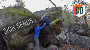 Hideous Fontainebleau 8A Slopers | Climbing Daily Ep.1351
