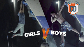 Girls Vs Boys: Climbing Face Off | Climbing Daily Ep.1404