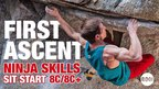 THE SECRET TO NINJA SKILLS SIT 8C/8C+ | Martin Keller First Ascent!
