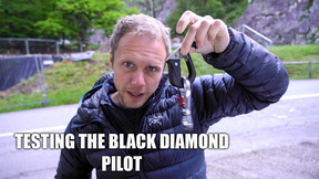 Testing The Black Diamond Pilot...VLOG
