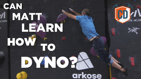 Matt Learns To Dyno: Arc'teryx Alpine Academy | Climbing Daily Ep.1449