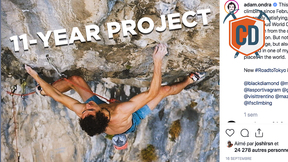 Adam Ondra's 11-YEAR Project Goes DOWN | Climbing Daily Ep.1903