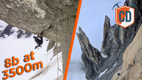 Climbing One Of Chamonix's Hardest Multi-Pitches | Climbing Daily Ep.1513