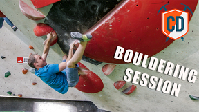 Matt Has A Bouldering Session At The Blockhelden Gym | Climbing Daily Ep.1535