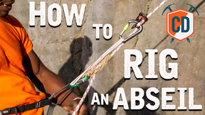 How To Set Up An Abseil | Climbing Daily Ep.1545