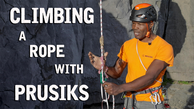 How To Climb A Rope Using Prusiks | Climbing Daily Ep.1549