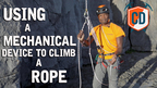 Using A Mechanical Ascender To Climb A Rope | Climbing Daily Ep.1554