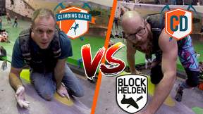 Climbing Daily Vs Blockhelden: Indoor Climbing BATTLE | Climbing Daily Ep.1580
