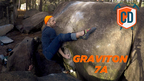 One Of The Hardest Top Outs In Font...Graviton 7A | Climbing Daily Ep.1588