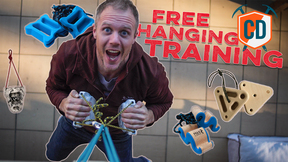 Free Hanging Climbing Training Gear | Climbing Daily Ep.1589