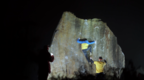 Night Bouldering - Peak District - Petzl