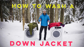 How To Wash Your Down Garment