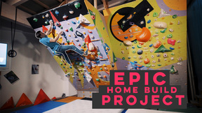 These Guys Built An EPIC Climbing Wall 20 Metres From Their House