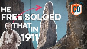 The Man Who Free Soloed The 'Impossible' Climb In 1911 | Climbing Daily Ep.1668