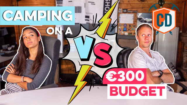 €300 BUDGET Challenge: Camping While Climbing | Climbing Daily Ep.1671