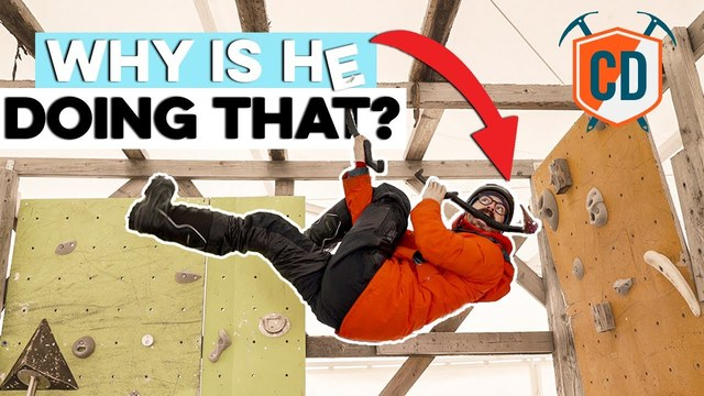 4 Bizarres Moves From The CRAZY World Of Ice Climbing | Climbing Daily Ep.1672