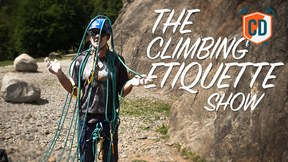 DON'T Over Chalk & Other Outdoor Etiquette Tips | Climbing Daily Ep.1674