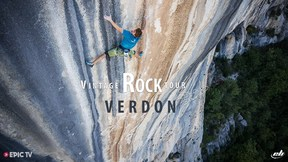 Seb Takes On The Hardest Most Exposed Routes In Verdon | Seb Bouin's Vintage Rock Tour Ep.2