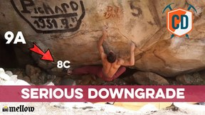 9A To 8C DOWNGRADE: The Saga Continues | Climbing Daily Ep.1741