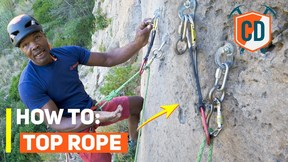 How To Set Up A Top Rope Anchor | Climbing Daily Ep.1761