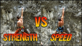 Climbing Style Comparison : Strength VS Speed