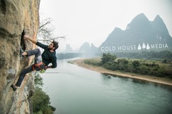 Sport Climbing Gets Baltic At The Riverside Crag, Yangshuo || Cold House Media Vlog 79